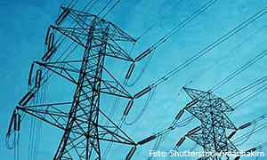 Oberlandleitungen-Strommasten