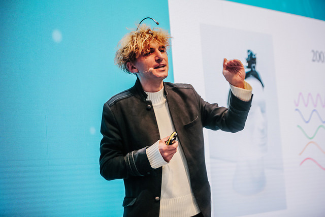 Telefónica CeBIT 2017 - Neil Harbisson